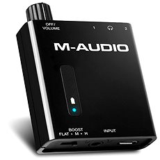M-Audio Bass Traveler - Fül-/fejhallgató erősítő