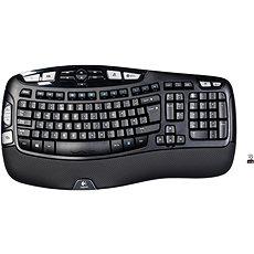 Logitech Wireless Keyboard K350 UK - Billentyűzet