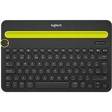 Logitech Bluetooth Multi-Device Keyboard K480 US fekete - Billentyűzet