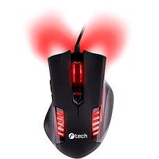 C-TECH Empusa (piros háttérvilágítás) - Gamer egér
