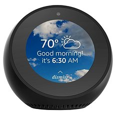 Amazon Echo Spot (fekete) - Hangsegéd