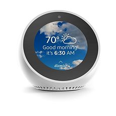 Amazon Echo Spot, fehér - Hangsegéd