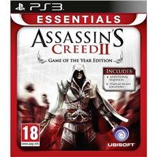 PS3 - Assassins Creed II (Essentials Edition) - Konzoljáték