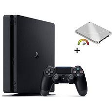 PlayStation 4 Slim 960GB SSD + 500GB külső HDD - Játékkonzol