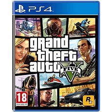 Grand Theft Auto V - PS4 - Konzoljáték