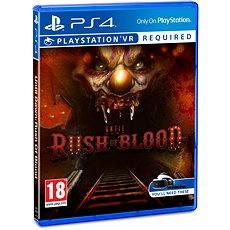 Until Dawn: Rush of Blood - PS4 VR - Konzoljáték