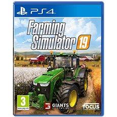 Farming Simulator 19 - PS4 - Konzoljáték