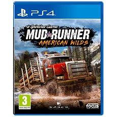 Spintires: MudRunner - American Wilds Edition - PS4 - Konzoljáték