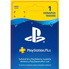 PlayStation Plus 1 hónapos tagság - HU Digital - Feltöltőkártya