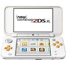 New Nintendo 2DS XL Fehér-Narancs - Játékkonzol