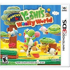 Poochy & Yoshi's Woolly World -  Nintendo 3DS - Konzoljáték