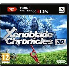 Nintendo 3DS - Xenoblade Chronicles 3D Konzoljáték - Konzoljáték