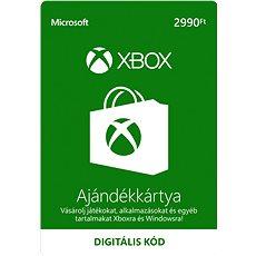 Xbox Live ajándék kártya 2990Ft - Feltöltőkártya
