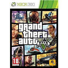 Grand Theft Auto V (GTA 5) -  Xbox 360 - Konzoljáték