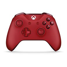 Xbox One Wireless Controller Red - Játékvezérlő