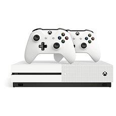 Xbox One S 1TB + extra vezeték nélküli kontroller - Játékkonzol