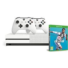 Xbox One S 1TB + extra Wireless Controller + FIFA 19 - Játékkonzol