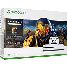 Xbox One S 1TB - ANTHEM Bundle - Játékkonzol