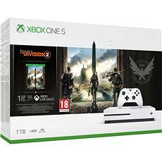 Xbox One S 1TB - The Division 2 Bundle - Játékkonzol