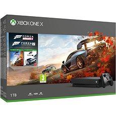 Xbox One X + Forza Horizon 4 + Forza Motorsport 7 - Játékkonzol