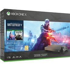 Xbox One X Battlefield V Gold Rush Special Edition - Játékkonzol