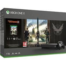 Xbox One X - The Division 2 Bundle - Játékkonzol