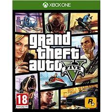 Xbox One - Grand Theft Auto V - Konzoljáték