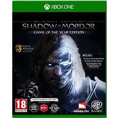 Xbox One - Middle Earth Shadow Of Mordor - Az év játéka kiadás - Konzoljáték