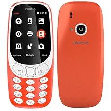 Nokia 3310 (2017) Dual SIM, piros - Mobiltelefon