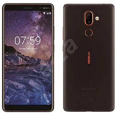 Nokia 7 Plus Black Dual SIM - Mobiltelefon