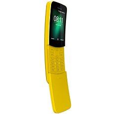 Nokia 8110 4G Dual SIM, sárga - Mobiltelefon