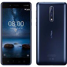 Nokia 8 Dual SIM mobiltelefon - Tempered Blue - Mobiltelefon