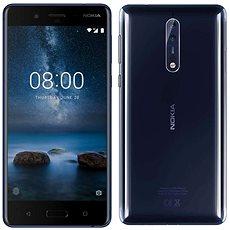 8 Nokia Dual SIM mobiltelefon - Polished Blue - Mobiltelefon