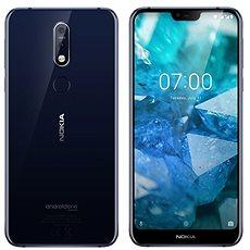 Nokia 7.1 Dual SIM kék - Mobiltelefon