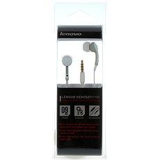 Lenovo In-ear Headset P165 White - Mikrofonos fej-/fülhallgató
