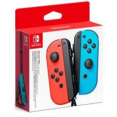 Nintendo Switch Joy-Con távirányító, neon piros/neon kék - Kontroller