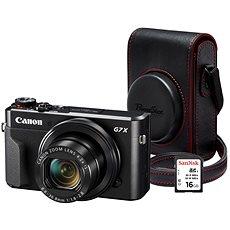 Canon PowerShot G7 X Mark II Premium Kit - Digitális fényképezőgép
