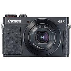 Canon PowerShot G9 X Mark II fekete - Digitális fényképezőgép