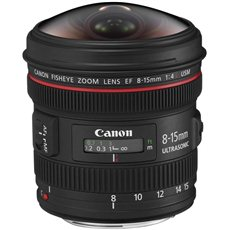 Canon EF 8-15 mm F4.0 L USM Fish-Eye - Objektív