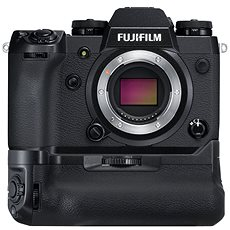 Fujifilm X-H1 fekete váz + VPB-XH1 portrémarkolat - Digitális fényképezőgép