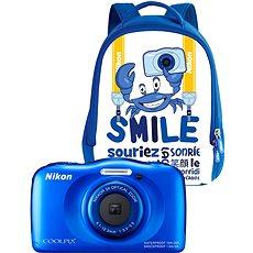 Nikon COOLPIX W100 kék hátizsák szett - Fényképezőgép gyerekeknek