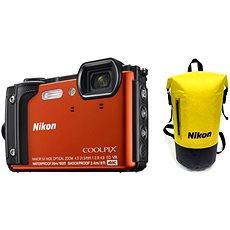Nikon COOLPIX W300 Narancssárga Holiday Kit - Digitális fényképezőgép