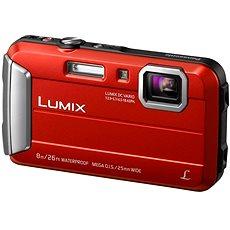 Panasonic LUMIX DMC-FT30 - Piros - Digitális fényképezőgép