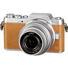 Panasonic LUMIX DMC-GF7 barna + 12-32 mm objektív - Digitális fényképezőgép