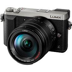 Panasonic LUMIX DMC-GX80 ezüst + 14-140 mm objektív - Digitális fényképezőgép