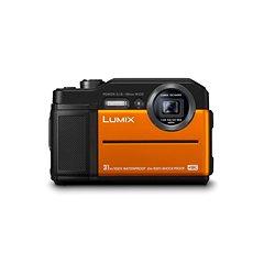 Panasonic LUMIX DMC-FT7 narancssárga - Digitális fényképezőgép