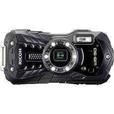 RICOH WG-50 fekete + lebegő szíj + neoprén tok - Digitális fényképezőgép
