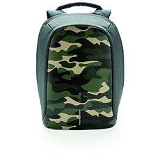 """XD Design Bobby anti-theft backpack 14"""" zöld terepszínű - Laptophátizsák"""