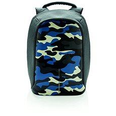 """XD Design Bobby Anti-theft Backpack 14"""" kék terepszínű - Laptophátizsák"""