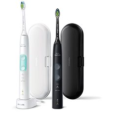 Philips Sonicare ProtectiveClean Gum Health Black and White HX6857/35 - Elektromos fogkefe